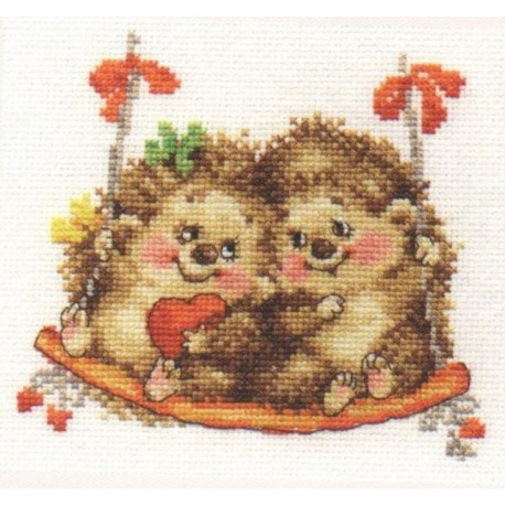 click here to view larger image of On the Swings (counted cross stitch kit)