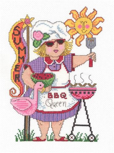 click here to view larger image of BBQ Queen - Diane Arthurs (chart)
