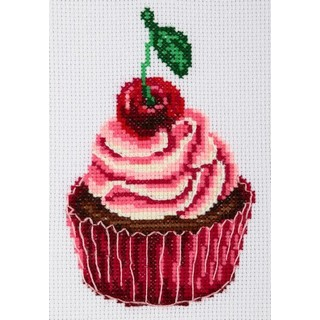 click here to view larger image of Cake - 0212 (counted cross stitch kit)