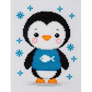 click here to view larger image of Penguin (counted cross stitch kit)