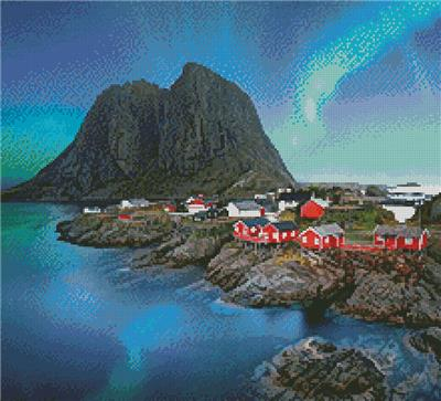 click here to view larger image of Lofoten Norway (Crop) (chart)