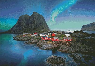 click here to view larger image of Lofoten Norway  (chart)