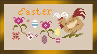 click here to view larger image of Easter Egg Hunt (chart)