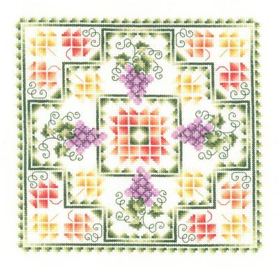 click here to view larger image of Harvest Quilt - Pamela Kellogg (chart)