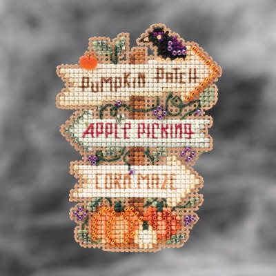 click here to view larger image of Fall Fun (2021) (counted cross stitch kit)