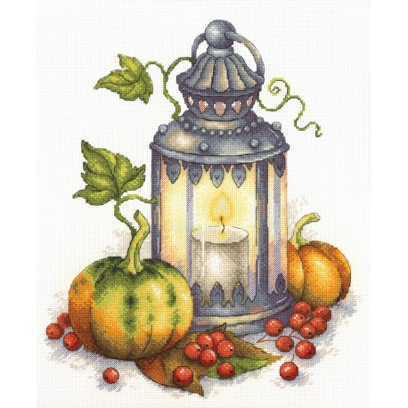 click here to view larger image of Autumn Flame (counted cross stitch kit)