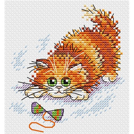 click here to view larger image of Adventurous Ginger (counted cross stitch kit)