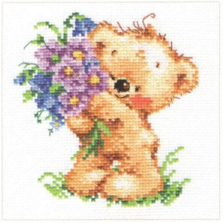 click here to view larger image of Congratulations (counted cross stitch kit)