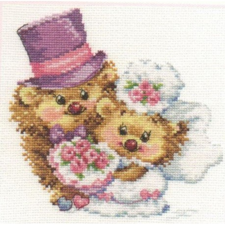 click here to view larger image of Forever (counted cross stitch kit)