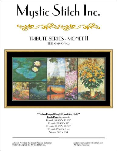click here to view larger image of Tribute Series - Monet II (chart (special))