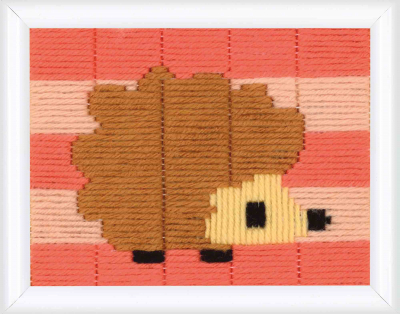click here to view larger image of Little Hedgehog (Long Stitch)