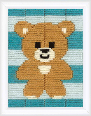 click here to view larger image of Little Bear (Long Stitch)