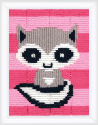click here to view larger image of Little Raccoon (Long Stitch)