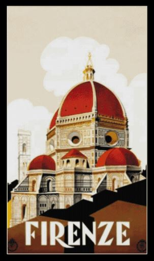 click here to view larger image of Firenze Travel Poster (chart)