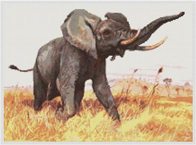 click here to view larger image of African Elephant (chart)