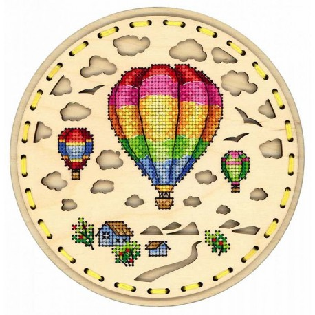 click here to view larger image of Air Travel (counted cross stitch kit)
