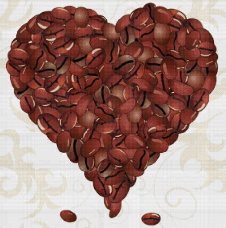 click here to view larger image of Coffee Valentine (chart)