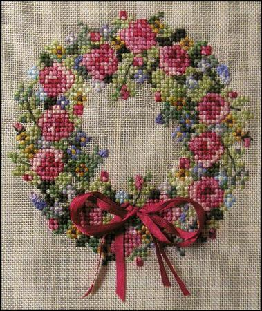 click here to view larger image of Summer Splendor Wreath (chart)