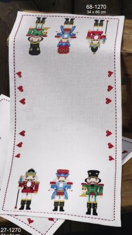 click here to view larger image of Nutcracker  (counted cross stitch kit)