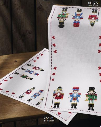 click here to view larger image of Nutcracker (bottom left) (counted cross stitch kit)