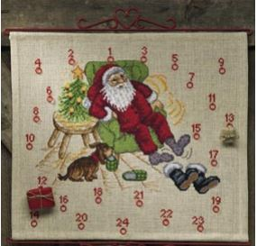 click here to view larger image of Santa Claus (counted cross stitch kit)