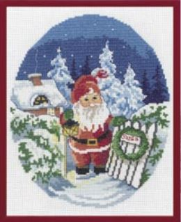 click here to view larger image of Elf (counted cross stitch kit)