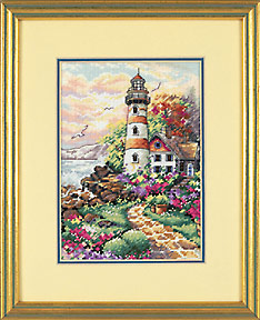 click here to view larger image of Beacon at Daybreak (counted cross stitch kit)