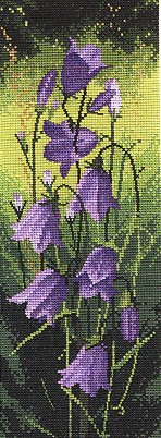 click here to view larger image of Harebell by John Clayton - Flower Panels (chart)