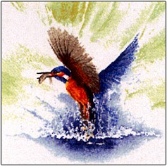 click here to view larger image of Kingfisher in Flight - Flights of Fancy (chart only) (chart)