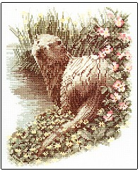 click here to view larger image of Otter - Wildlife Collection (counted cross stitch kit)