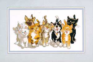 click here to view larger image of Tails of Duckport (counted cross stitch kit)
