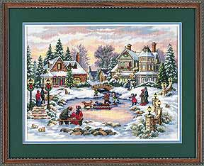 click here to view larger image of Treasured Times, A (counted cross stitch kit)