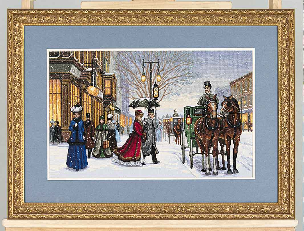 click here to view larger image of Gracious Era (counted cross stitch kit)