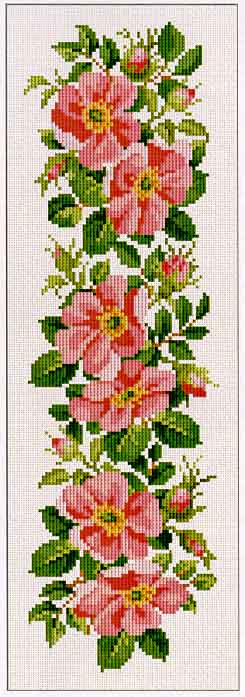 click here to view larger image of Wild Rose Border (chart)