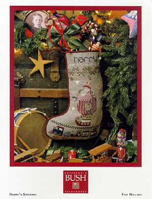 click here to view larger image of Harry's Stocking (chart)