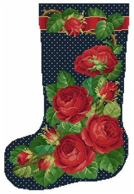click here to view larger image of Rose Stocking No 1 (chart)