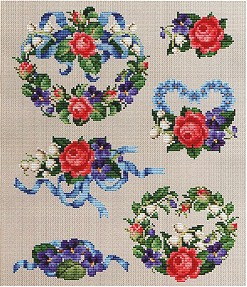 click here to view larger image of Roses and Violets Series 2 (chart)