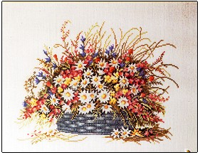 click here to view larger image of Flower Basket (chart)