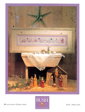 click here to view larger image of Bethlehem Christmas (chart)