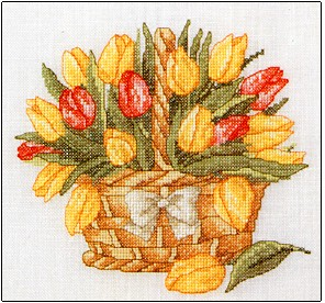click here to view larger image of Basket of Spring (chart)