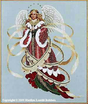 click here to view larger image of Angel of Christmas (chart)