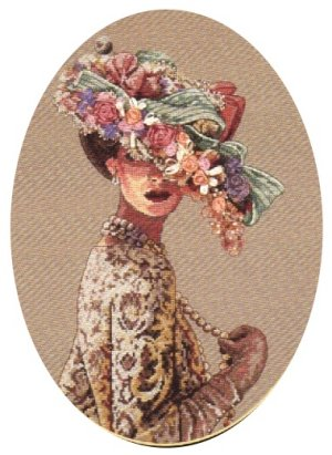 click here to view larger image of Victorian Elegance (counted cross stitch kit)