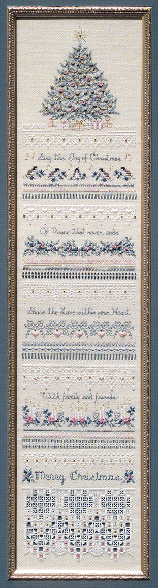 click here to view larger image of Heirloom Christmas Sampler (chart)