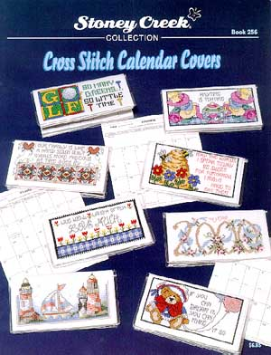 click here to view larger image of Cross Stitch Calendar Covers (book)