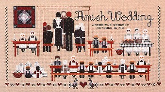 click here to view larger image of Amish Wedding (chart)