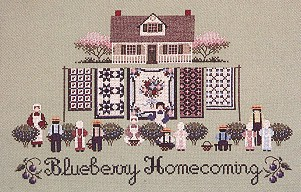 click here to view larger image of Blueberry Homecoming (chart)