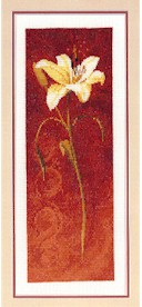 click here to view larger image of Day Lily  (counted cross stitch kit)