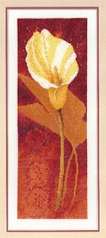 click here to view larger image of Calla Lily  (counted cross stitch kit)