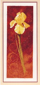 click here to view larger image of Iris  (counted cross stitch kit)
