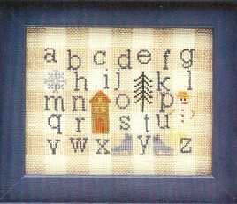 click here to view larger image of Winter Gingham Sampler (chart)